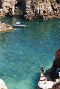 Cove in the Algarve