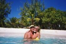 Kiss on Palm Island