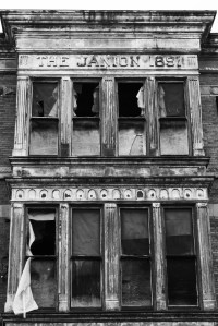 1610 Store Street~ 1891~ The Janion Hotel~ currently being restored and converted into lofts
